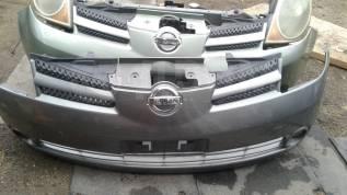 Бампер. Nissan Note, E12, NE12 Двигатели: HR12DDR, HR12DE, HR16DE