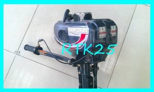 Hangkai. 3,50л.с., 2-тактный, бензиновый, нога S (381 мм), 2016 год год