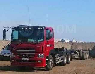 Hyundai Trago. Седельный тягач 6x4, 12 344куб. см., 44 000кг., 6x4