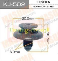 Клипса. Toyota RAV4, BEA11, SXA10, SXA10C, SXA10G, SXA10W, SXA11, SXA11G, SXA11W, SXA15, SXA15G, SXA16, SXA16G Двигатели: 3SFE, 3SGE, EM