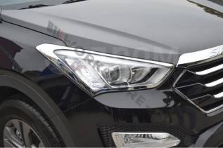 Накладка на фару. Hyundai Santa Fe, DM Двигатели: D4HA, D4HB, G4KE