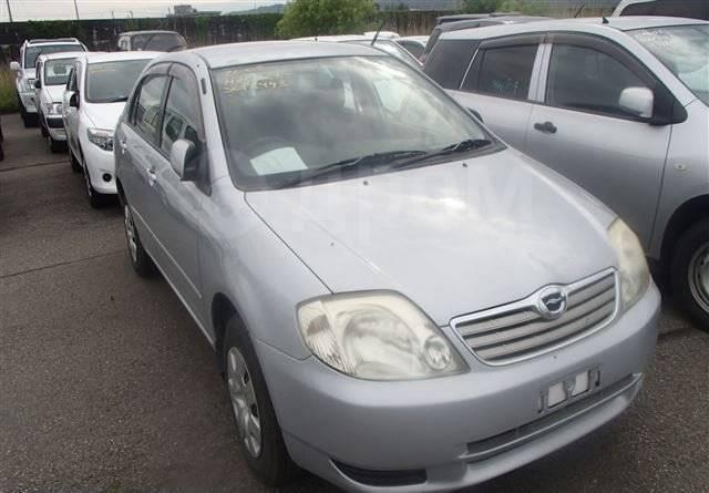 Накладка на порог. Toyota Corolla, NZE124