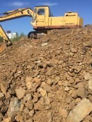 Вывоз мусора хлама бетона грунта.