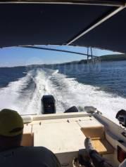 Аренда катера. Рейды, рыбалка , экскурсии по заливу Петра Великого. 8 человек, 60км/ч
