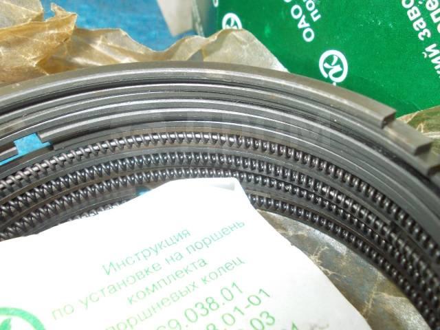 Кольца поршневые. ГАЗ 21 Волга ГАЗ 24 Волга ГАЗ 3110 Волга УАЗ 469