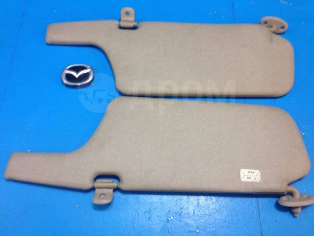 Козырек солнцезащитный. Mazda Protege Mazda Familia, BJ3P, BJ5P, BJ5W, BJ8W, BJEP, BJFP, BJFW Mazda 323, BJ