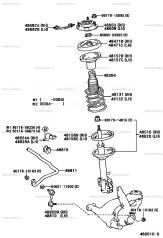 Амортизатор. Toyota Ipsum, SXM10, SXM10G Toyota Gaia, SXM10, SXM10G Toyota Picnic, SXM10, SXM10L Двигатель 3SFE
