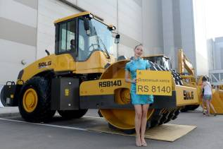 Sdlg. Каток грунтовый SDLG RS8140, Volvo, 14 тонн