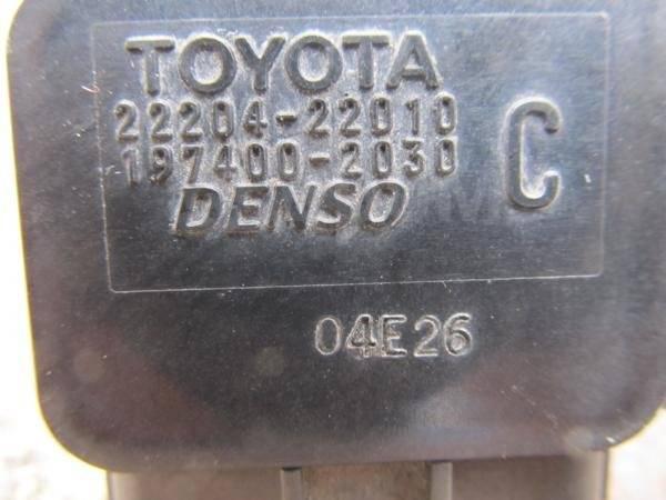 Датчик расхода воздуха. Toyota: Windom, Platz, Aristo, Ipsum, Avensis, Corolla, Probox, Yaris Verso, Altezza, MR-S, Tundra, Raum, Vista, Echo Verso, C...