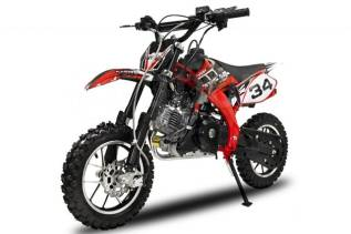 Кроссовый мини мотоцикл YMH с 4-х тактным двигателем и электростартер