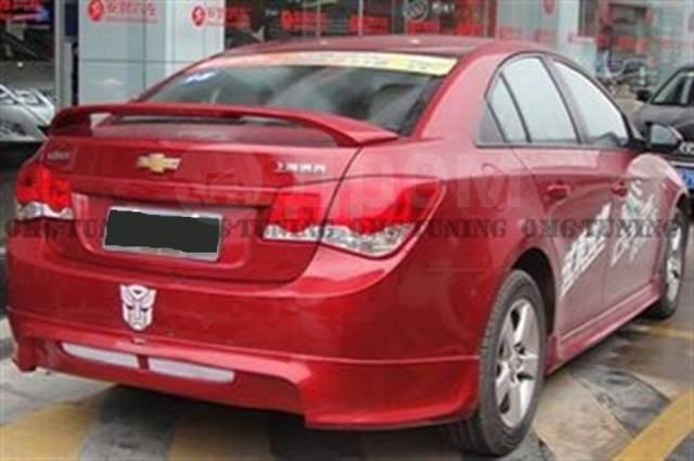 Обвес кузова аэродинамический. Chevrolet Cruze, J300, J305