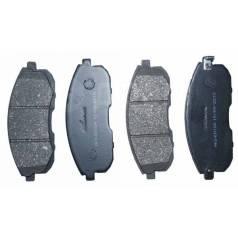 Колодка тормозная. Nissan Tiida, C11X, SC11X, C11, JC11, NC11, SC11 Двигатели: HR16DE, K9K, MR18DE, HR15DE