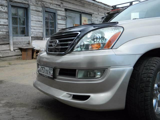 Обвес кузова аэродинамический. Lexus GX470