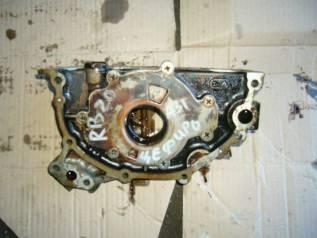 Насос масляный. Nissan Cefiro, A31 Двигатель RB20E