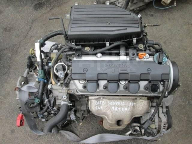 Двигатель в сборе. Honda Civic, EG3, EG4, EK2, EK3, EK4, EK9, EU1, EU2, EU3, EU4, FD1 Двигатели: D13B, D13B1, D13B2, D13B3, D15B, D15B1, D15B2, D15B3...