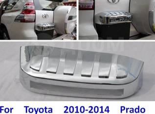 Рамка для крепления номера. Toyota Land Cruiser Prado, GDJ150, GDJ150L, GDJ150W, GRJ150, GRJ150L, GRJ150W, KDJ150, KDJ150L, LJ150, TRJ150, TRJ150L, TR...
