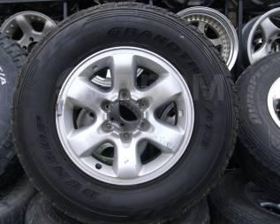 """Шины Dunlop 265/70R16 лето на литье Nissan Safari и т. д. 8.0x16"""" 6x139.70 ET10"""