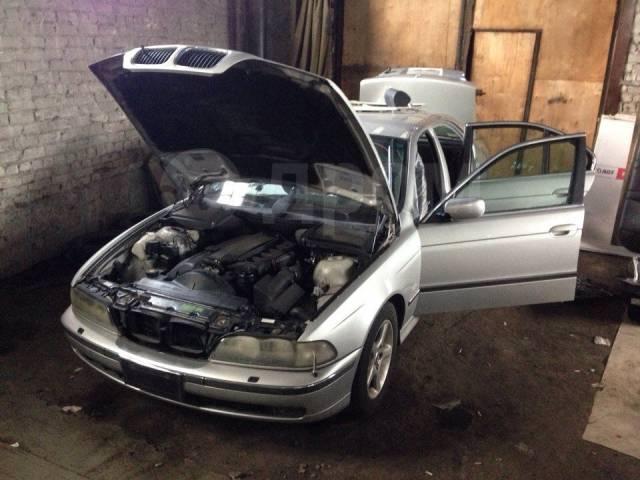 Тросик багажника. BMW 5-Series, E39