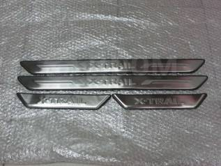 Накладка на порог. Nissan X-Trail, DNT31, NT31, T31, T31R, TNT31