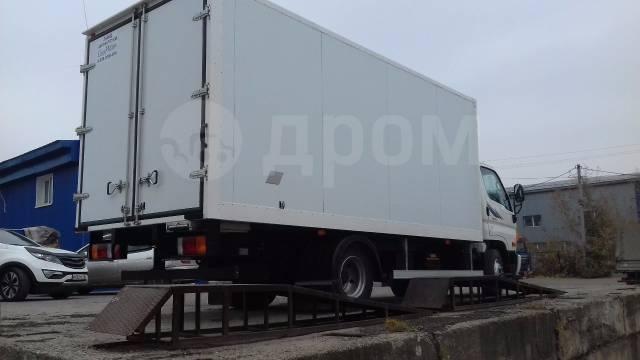 Hyundai HD78. Hyundai HD 78 Изотермический фургон - от официального дилера, 3 933куб. см., 4 950кг.