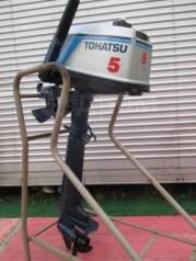 Tohatsu. 5,00л.с., 2-тактный, бензиновый, нога L (508 мм), 1992 год