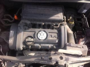 Двигатель в сборе. Volkswagen Polo Двигатель BUD