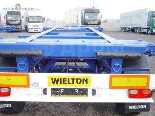 Wielton. Новый контейнеровоз NS 3 P, 34 950кг.