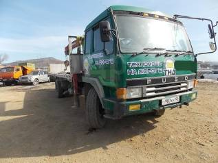 Mitsubishi Fuso. Продам грузовик с краном (эвакуатор), 17 000куб. см., 10 000кг., 4x2