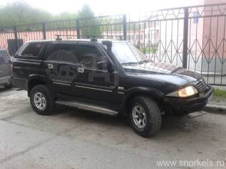 Шноркель. SsangYong Musso Sports SsangYong Musso