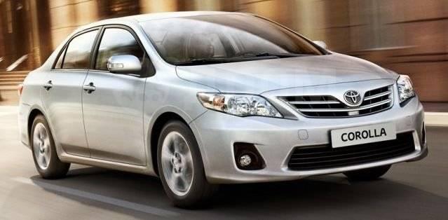 Решетка на противотуманные фары. Toyota Corolla, NDE160, NDE180, NRE160, NRE180, ZRE161, ZRE172, ZRE181, ZRE182 Двигатели: 1NDTV, 1NRFE, 1ZRFAE, 1ZRFE...