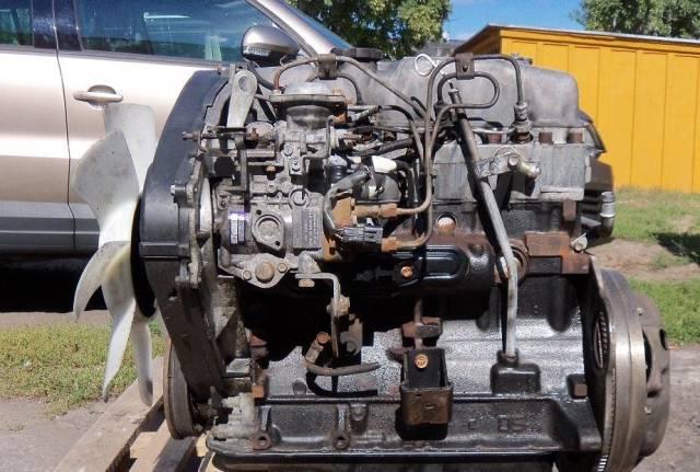 Двигатель в сборе. Mitsubishi L200 Mitsubishi Pajero, V21C, V21W, V23C, V23W, V24C, V24V, V24W, V24WG, V25C, V25W, V26C, V26W, V26WG Двигатели: 4D56...