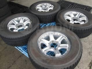 """Отличные зимние колеса Dunlop Grandtrek SJ7 265/65R17. 7.5x17"""" 6x139.70 ET23 ЦО 110,0мм."""