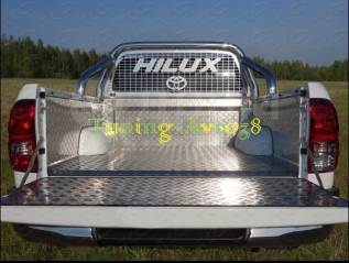 Вкладыши в кузов. Toyota Hilux Pick Up, GUN125, GUN125L, GUN126L Двигатели: 1GDFTV, 2GDFTV