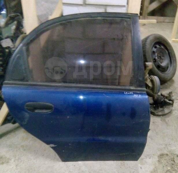 Дверь задняя R Chevrolet Lanos в сборе