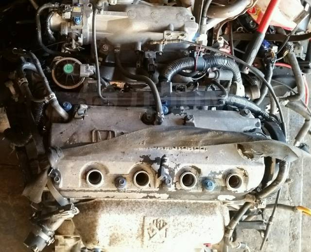 Двигатель в сборе. Honda Accord, CF3, CF4 Honda Torneo, CF3, CF4 Двигатели: F18B, F18B1, F18B2, F18B3, F18B4, F20B, F20B1, F20B2, F20B3, F20B4, F20B5...