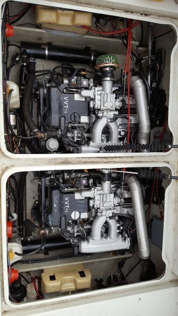 Подготавливаем и устанавливаем японские моторы в катера UZ, JZ и т. д.