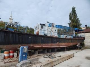 Продается катер водолазный «ЛОТ-2». 1986 год год, длина 20,50м., 150,00л.с.