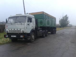 КамАЗ 5320. Продается Камаз седельный тягач, 10 000куб. см., 25 000кг.