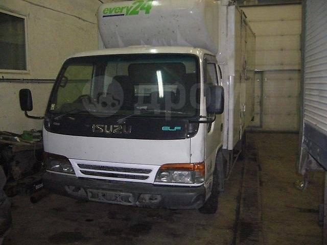Isuzu Elf. Продам грузовик, 5200 куб. см., 4000 кг, рефка, 5 200куб. см., 4 000кг., 4x2