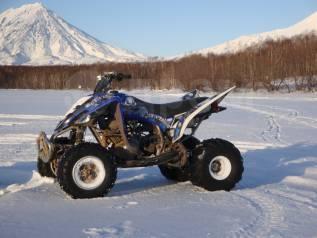 Yamaha Raptor 350. исправен, есть птс, с пробегом