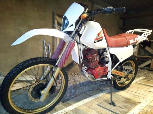 Honda XLR 250 Baja. 250куб. см., исправен, птс, без пробега