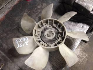 Вентилятор охлаждения радиатора. Toyota Mark II, GX90 Двигатель 1GFE