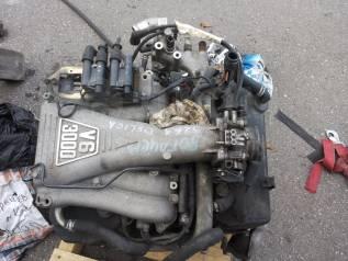 Двигатель в сборе. Mitsubishi: Sigma, Pajero, Delica, Montero Sport, Challenger, Diamante Двигатель 6G72