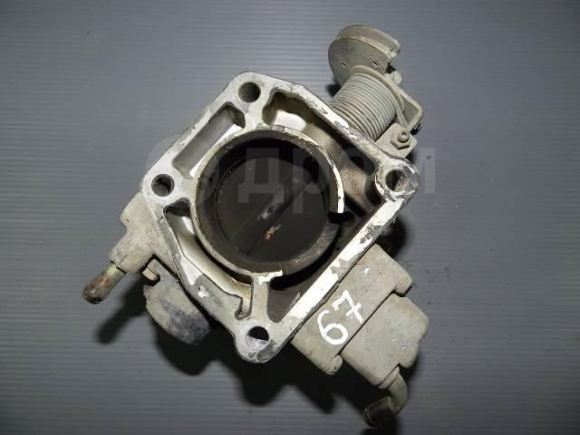 Заслонка дроссельная. Mazda Premacy, CP8W, CPEW Mazda Familia, BJ3P, BJ5P, BJ5W, BJ8W, BJEP, BJFP, BJFW, YR46U15, YR46U35, ZR16U65, ZR16U85, ZR16UX5 M...