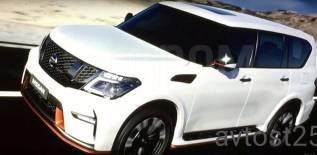 Обвес кузова аэродинамический. Nissan Patrol, Y62 Двигатель VK56VD