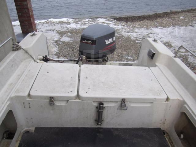 Yamaha Fish 22. 1995 год год, длина 6,70м., двигатель подвесной, 140,00л.с., бензин