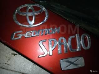 Эмблема. Toyota Corolla Spacio