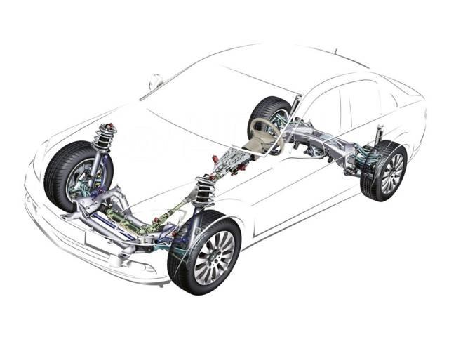 Диагностика и ремонт ходовой части легковых и грузовых авто.