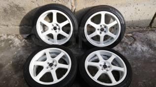 """Летние колеса Bridgestone Sports 215/45R17+ диски AVS Model 6. 7.0x17"""" 5x100.00 ET48 ЦО 70,0мм."""