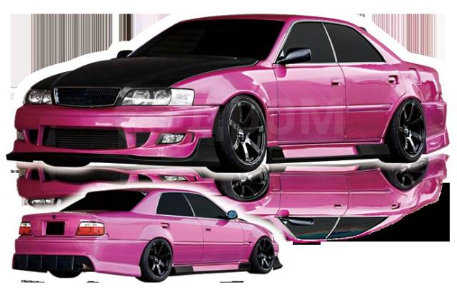Обвес кузова аэродинамический. Toyota Chaser, GX100, JZX100, LX100, SX100, GX105, JZX105, JZX101 Двигатели: 1JZGE, 1JZGTE, 1GFE, 2LTE, 4SFE, 2JZGE